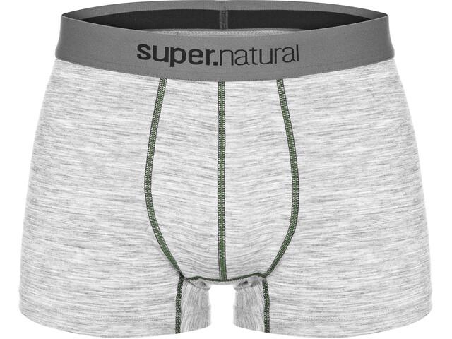 super.natural Base Mid Boxer 175 Men Ash Melange/Duffel Bag